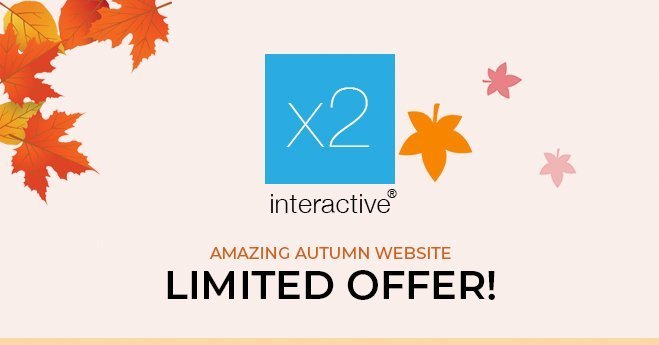 Amazing Autumn Website Limitted Offer 2020